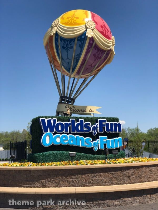 Main Entrance at Worlds of Fun