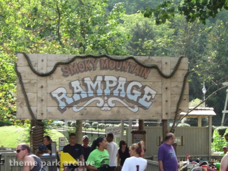Smoky Mountain River Rampage at Dollywood