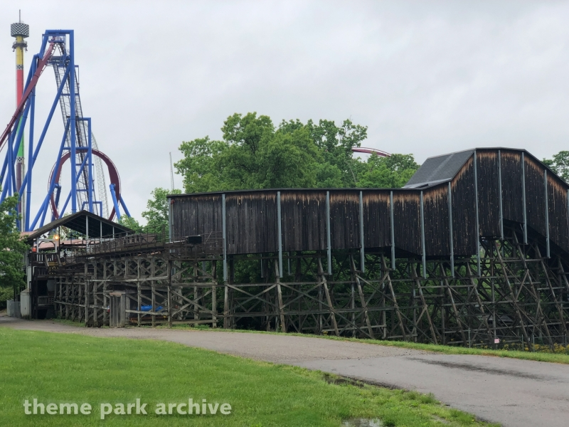 Adventure Express at Kings Island
