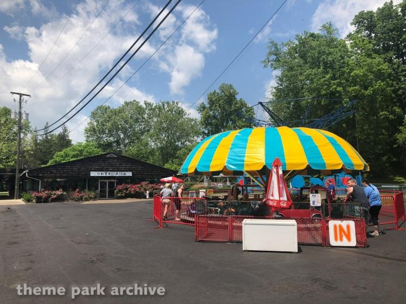 Umbrella Ride at Camden Park