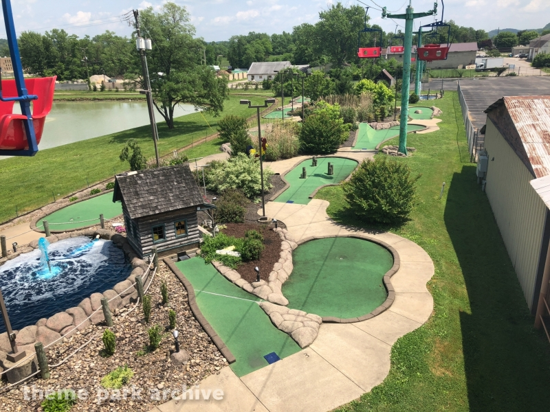 West Virginia Adventure Golf at Camden Park