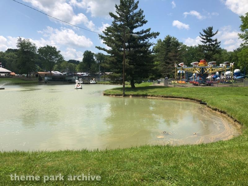 Swan Lake Paddleboats at Camden Park