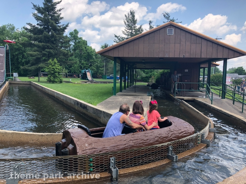 Log Flume at Camden Park