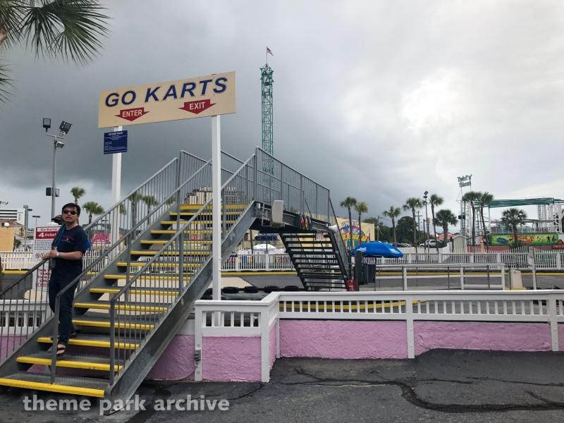 Go Karts at Family Kingdom