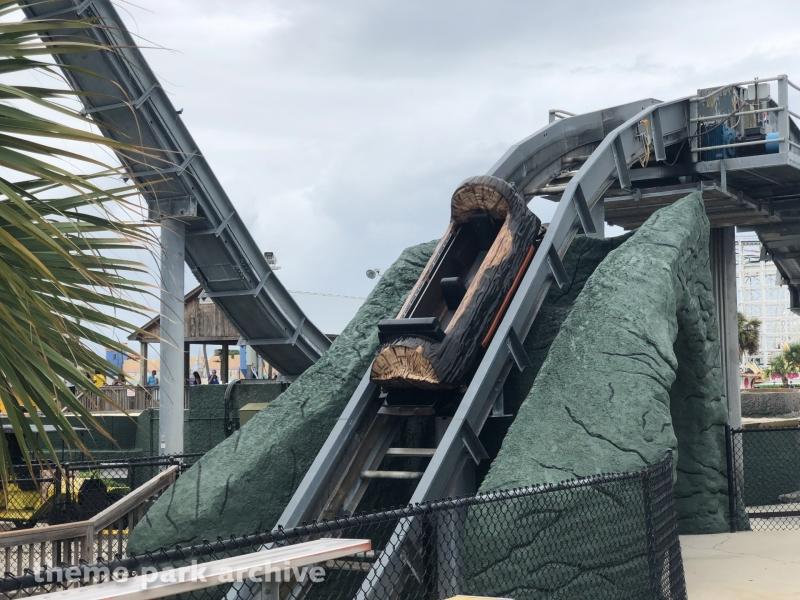 Log Flume at Family Kingdom