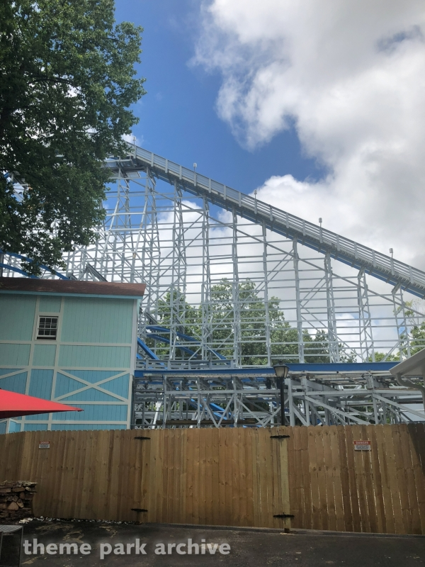 Twisted Cyclone at Six Flags over Georgia 2018