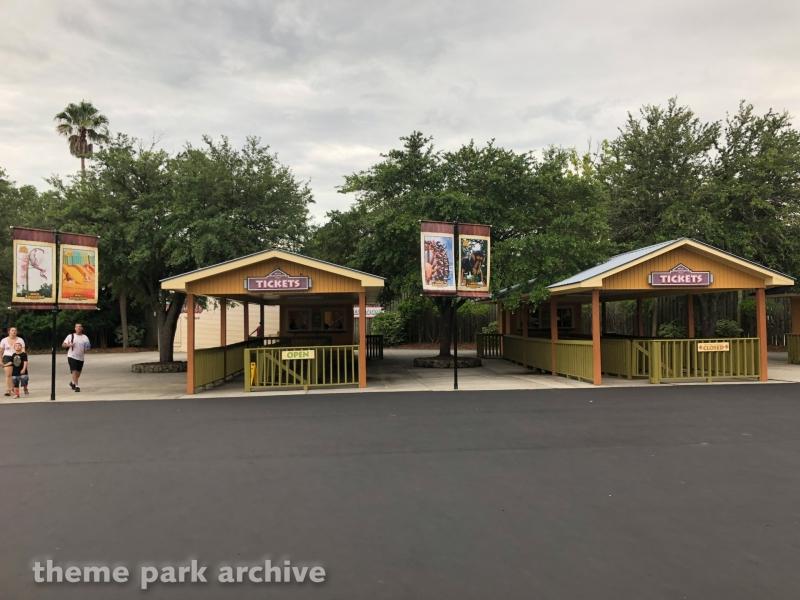 Entrance at Wild Adventures