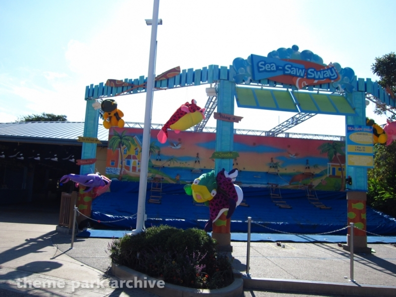 Games Entertainment Center at Sea World San Diego