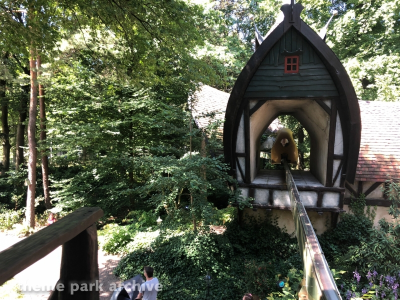Monorail at Efteling