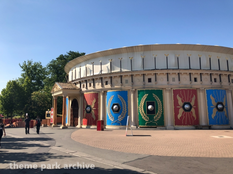 Gaulois Romains at Parc Asterix