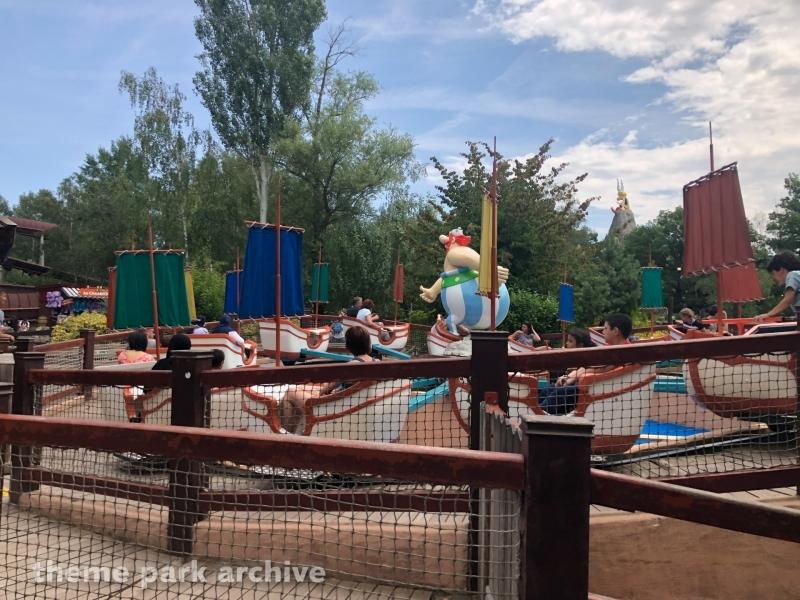 La Petite Tempete at Parc Asterix