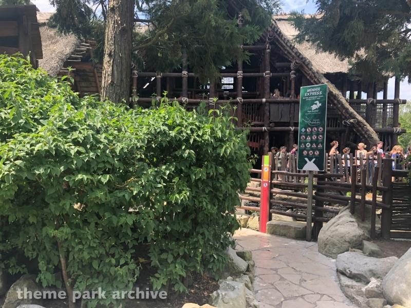 Menhir Express at Parc Asterix