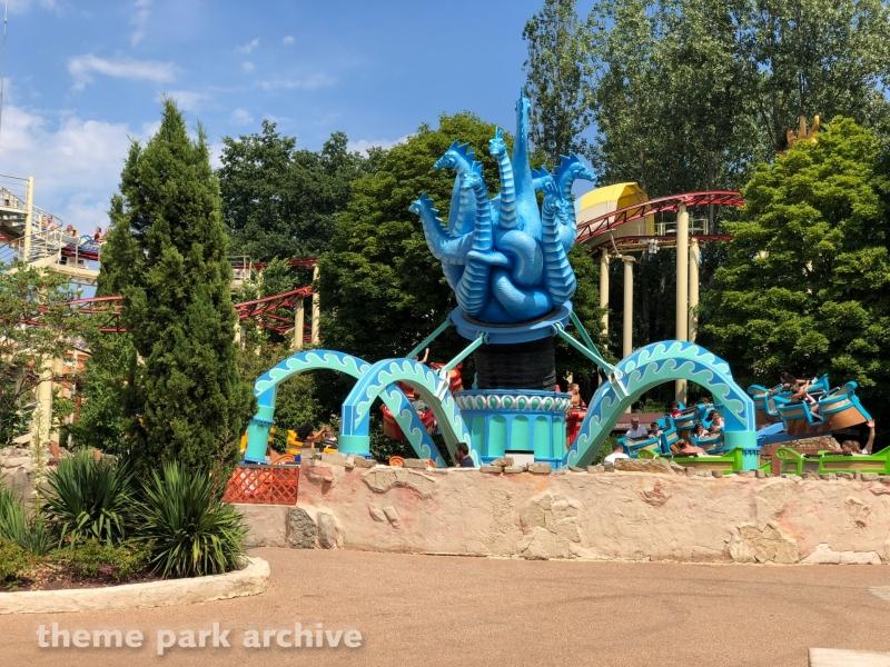 L Hydre De Lerne at Parc Asterix