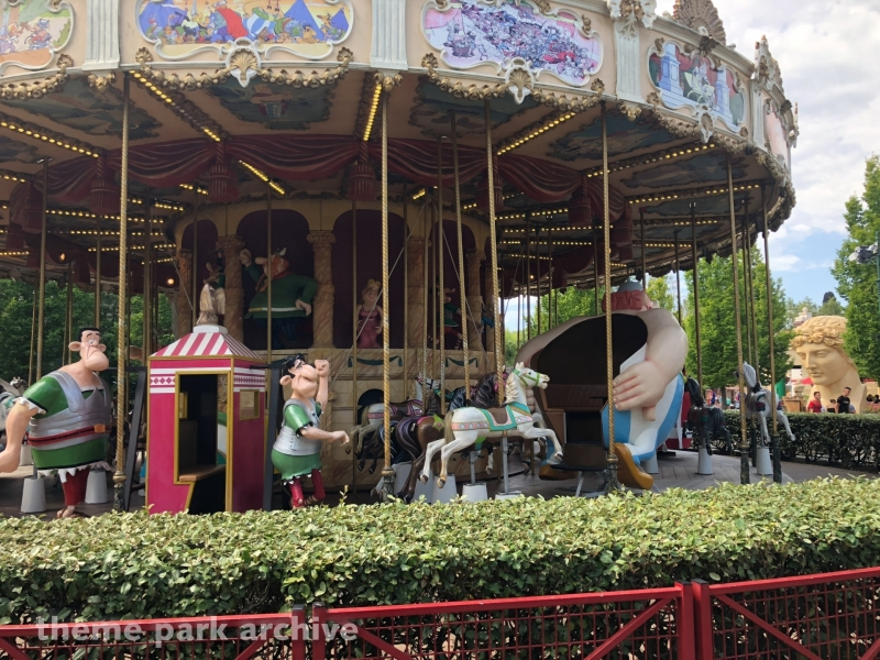 Le Carrousel De Cesar at Parc Asterix