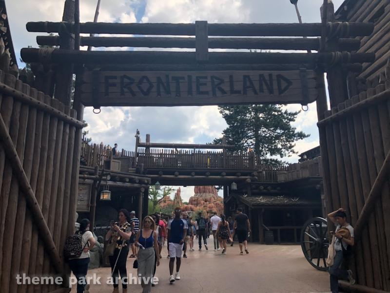 Frontierland at Disneyland Paris