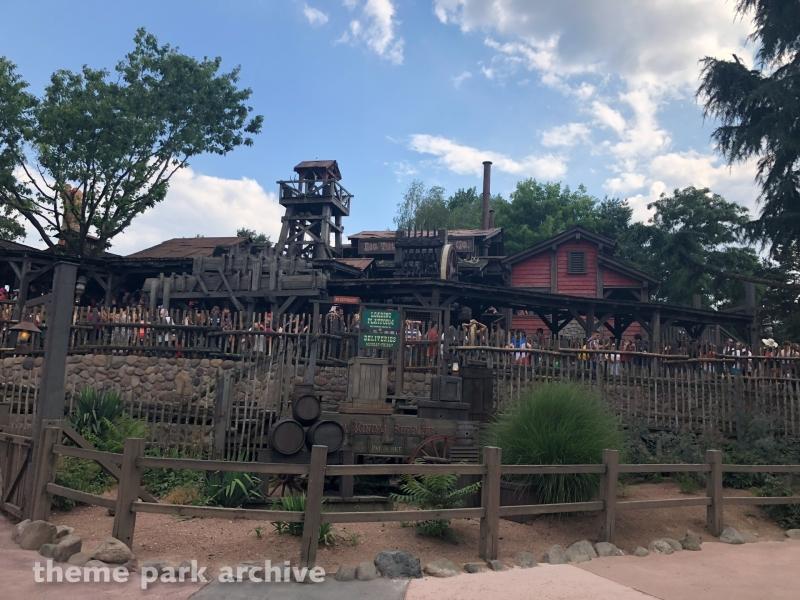 Big Thunder Railroad at Disneyland Paris