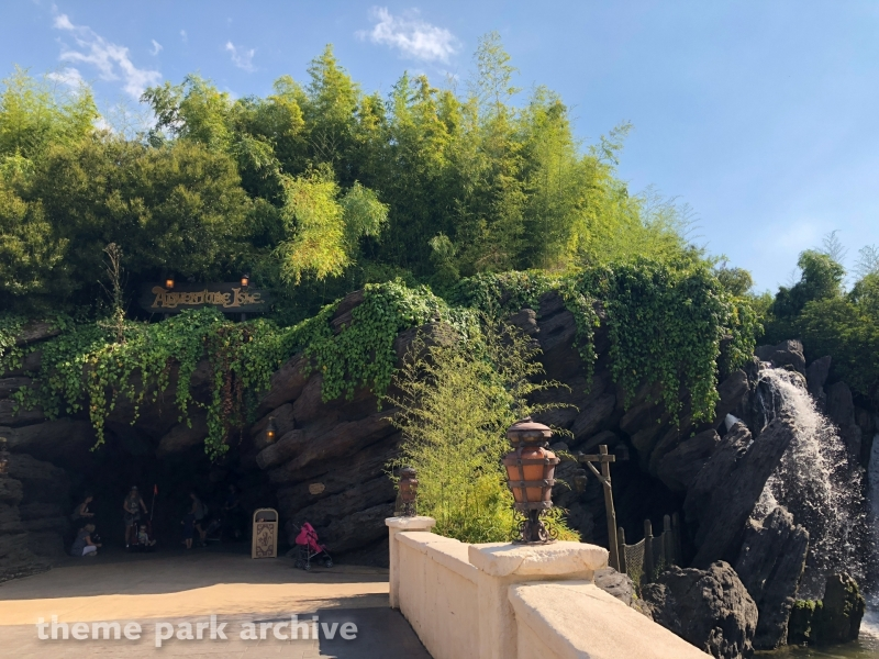 Adventureland at Disneyland Paris