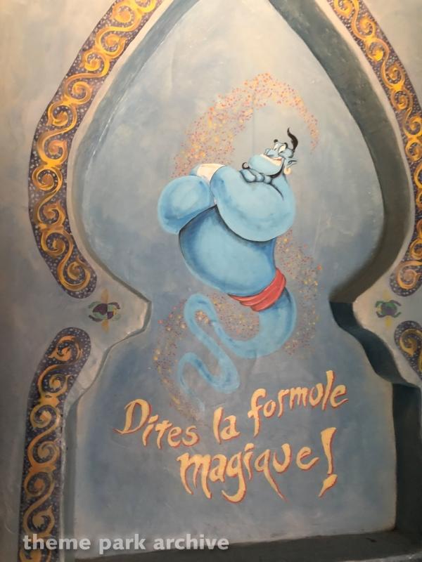 Le Passage Enchante d'Aladdin at Disneyland Paris