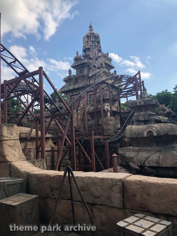 Indiana Jones and the Temple of Peril at Disneyland Paris