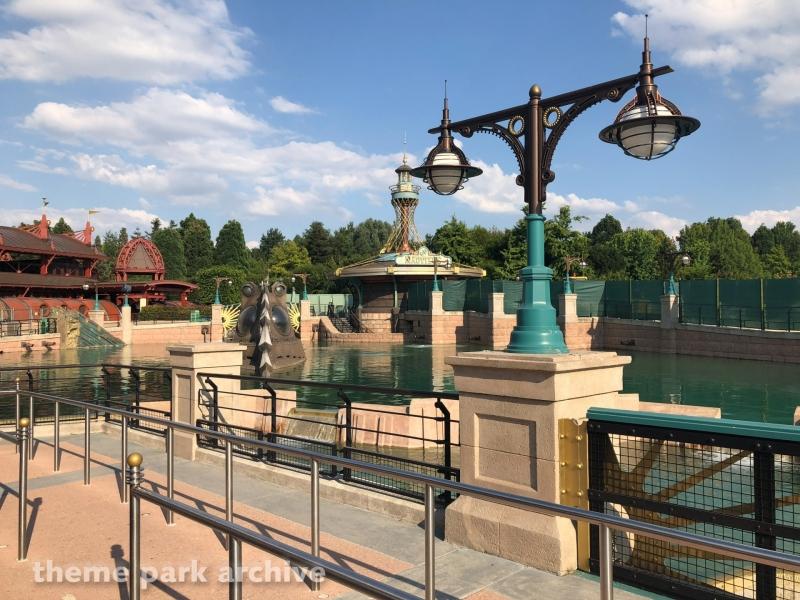 Les Mysteres du Nautilus at Disneyland Paris