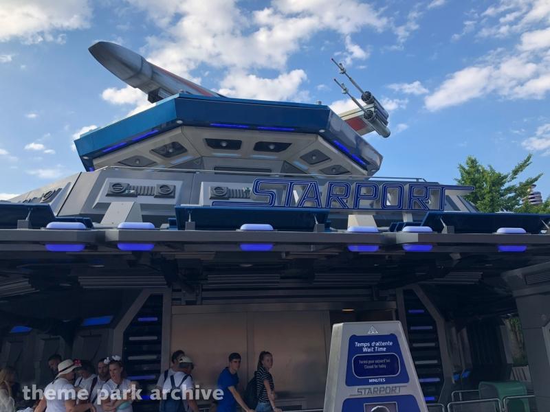 Starport Star Wars Encounter at Disneyland Paris