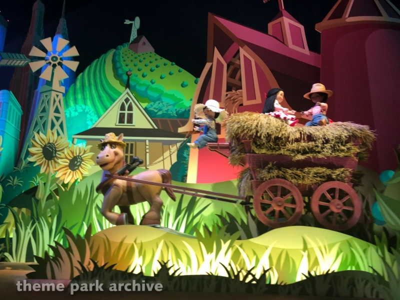 It's a Small World at Disneyland Paris