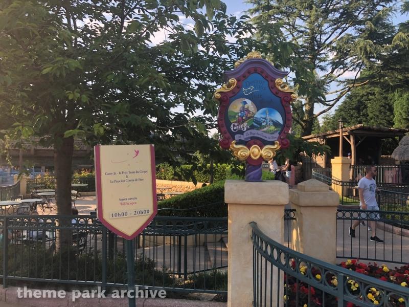 Casey Jr Le Petit Train du Cirque at Disneyland Paris