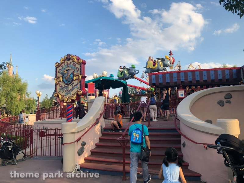 Dumbo the Flying Elephant at Disneyland Paris