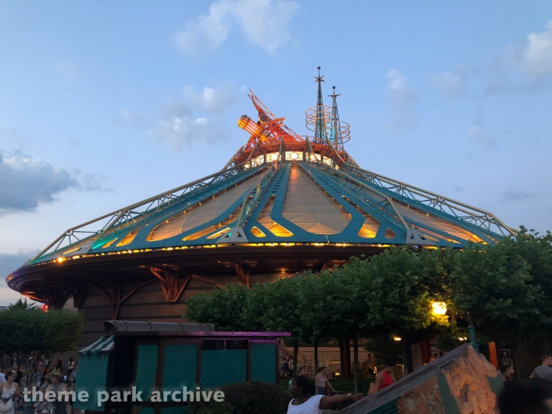 Space Mountain Mission 2 at Disneyland Paris