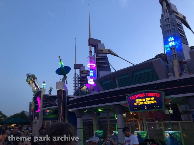Buzz Lightyear Laser Blast at Disneyland Paris