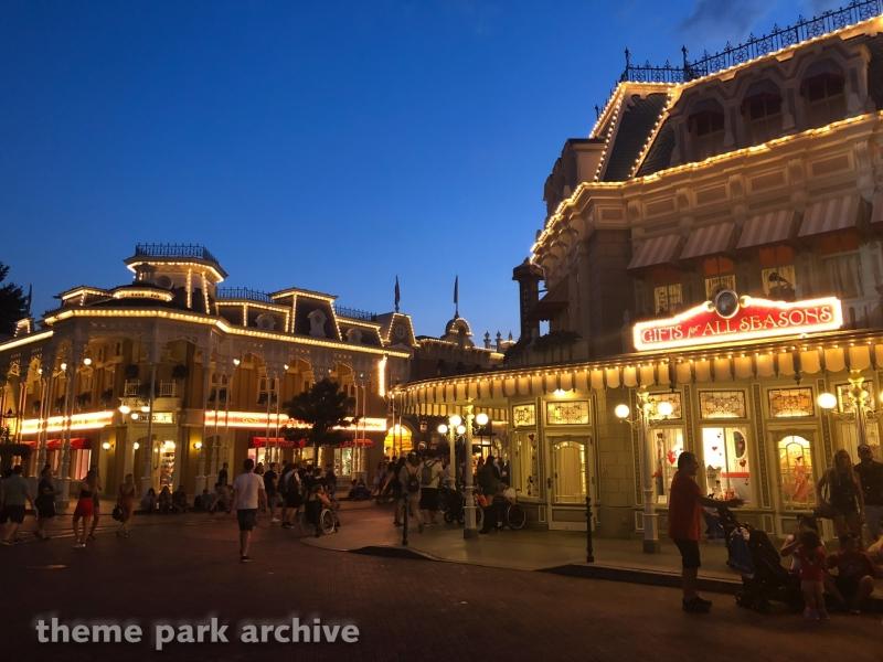 Main Street USA at Disneyland Paris
