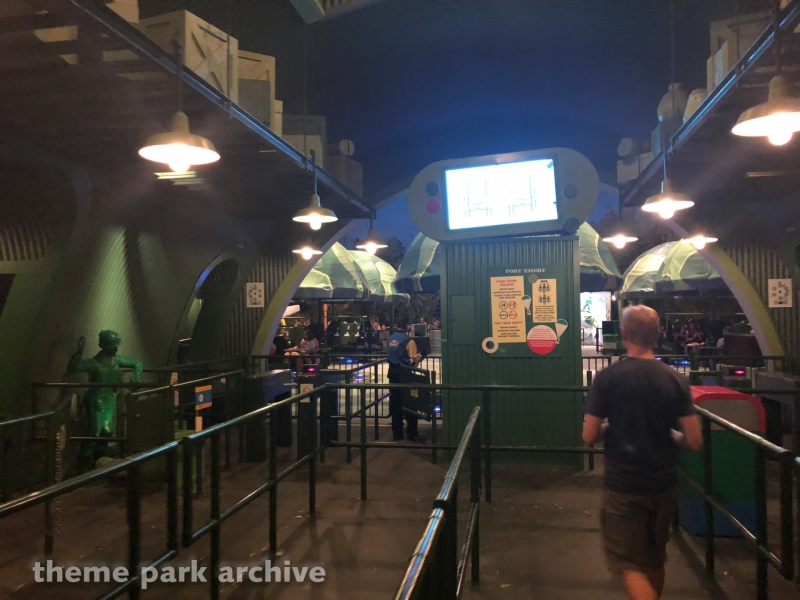 Toy Soldiers Parachute Drop at Walt Disney Studios
