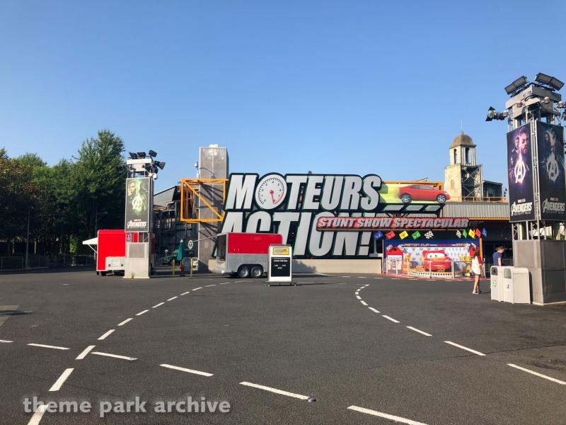 Moteurs Action Stunt Show Spectacular at Walt Disney Studios