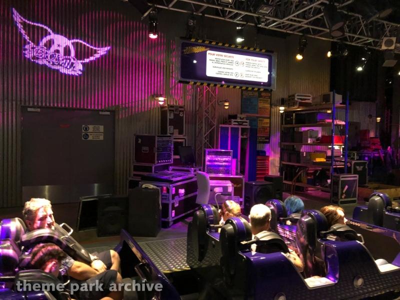 Rock 'n' Roller Coaster Starring Aerosmith at Walt Disney Studios
