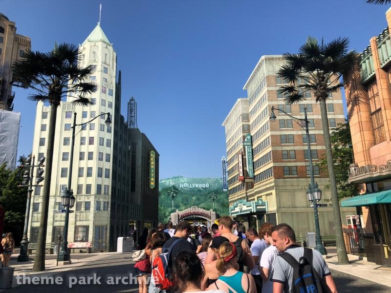 Production Courtyard at Walt Disney Studios