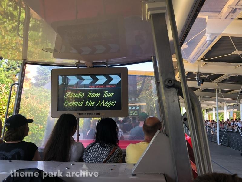 Studio Tram Tour at Walt Disney Studios