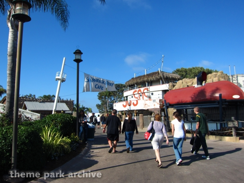 Shipwreck Reef Cafe at Sea World San Diego
