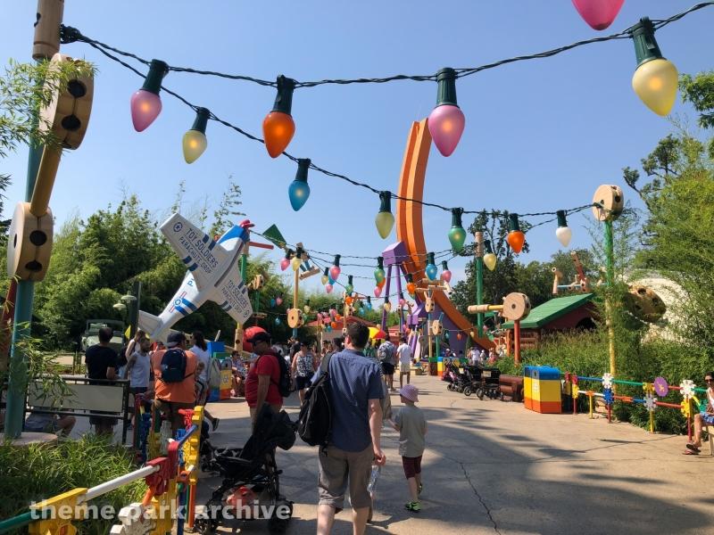 Toy Story Playland at Walt Disney Studios