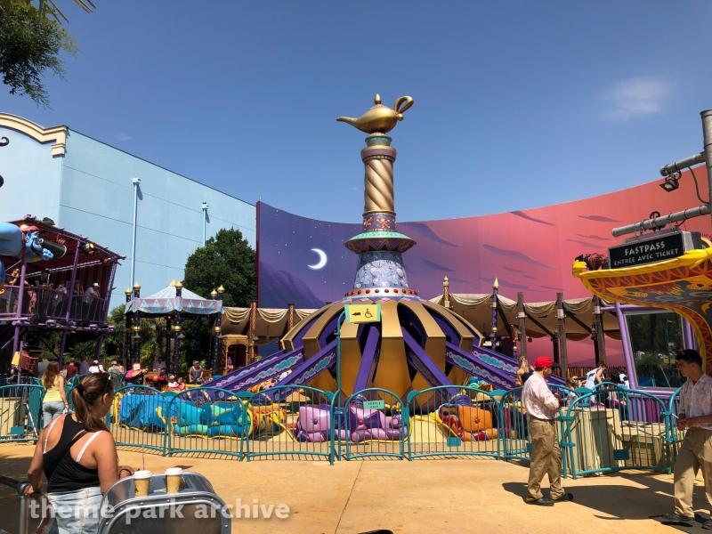 Flying Carpets over Agrabah at Walt Disney Studios