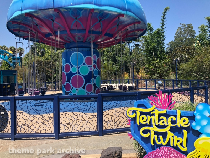 Tentacle Twirl at Sea World San Diego