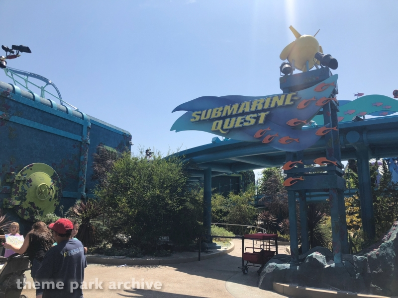 Submarine Quest at Sea World San Diego