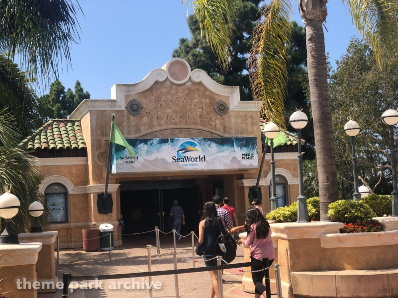 Mission Bay 4D Theater at Sea World San Diego