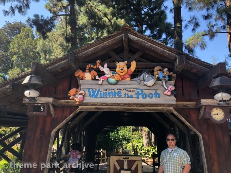 Winnie the Pooh at Disneyland
