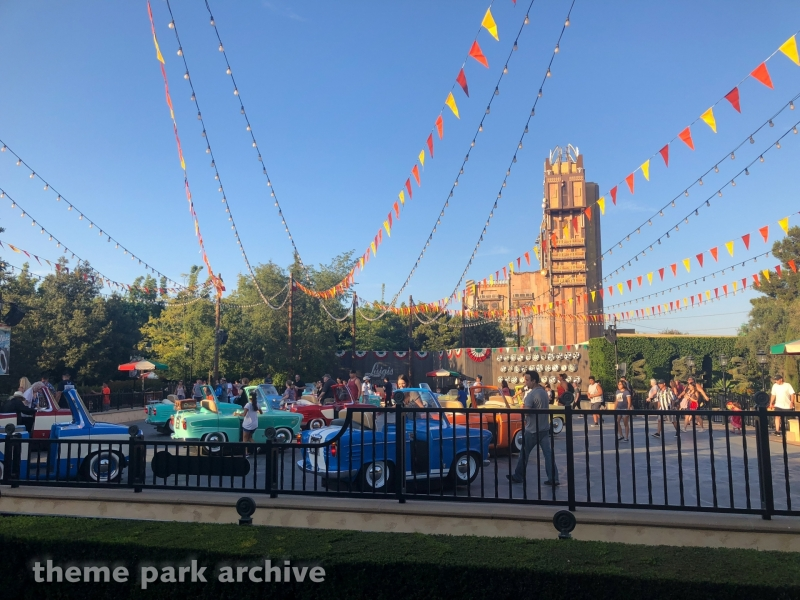 Luigi's Rollicking Roadsters at Disney California Adventure