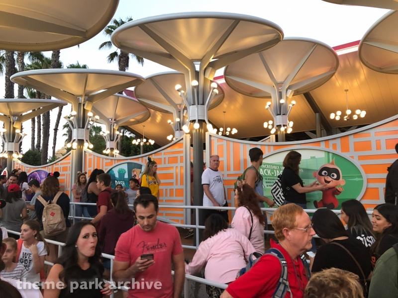 Incredicoaster at Disney California Adventure