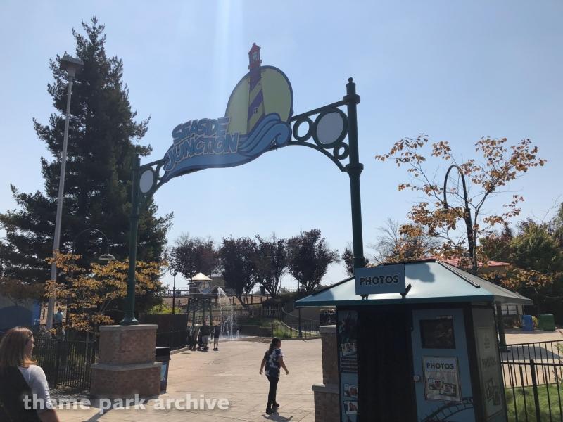Seaside Railway at Six Flags Discovery Kingdom