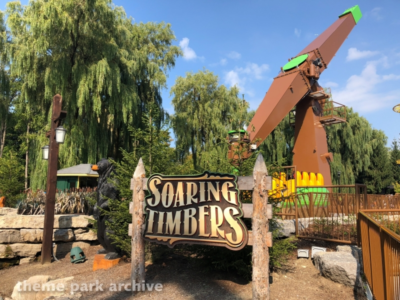 Soaring Timbers at Canada's Wonderland