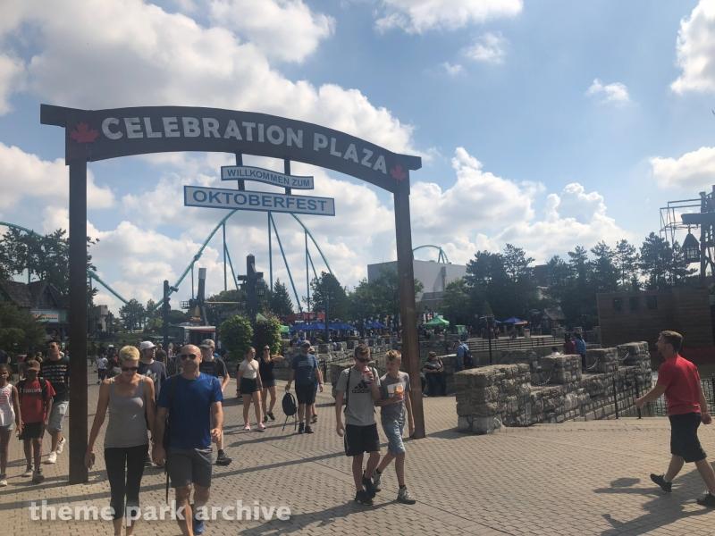 Celebration Plaza at Canada's Wonderland