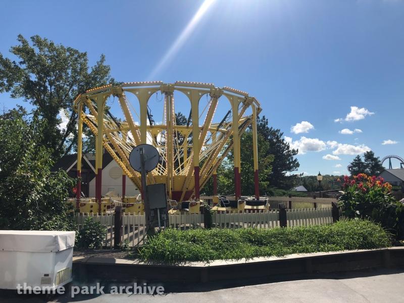 Corn Popper at Six Flags Darien Lake