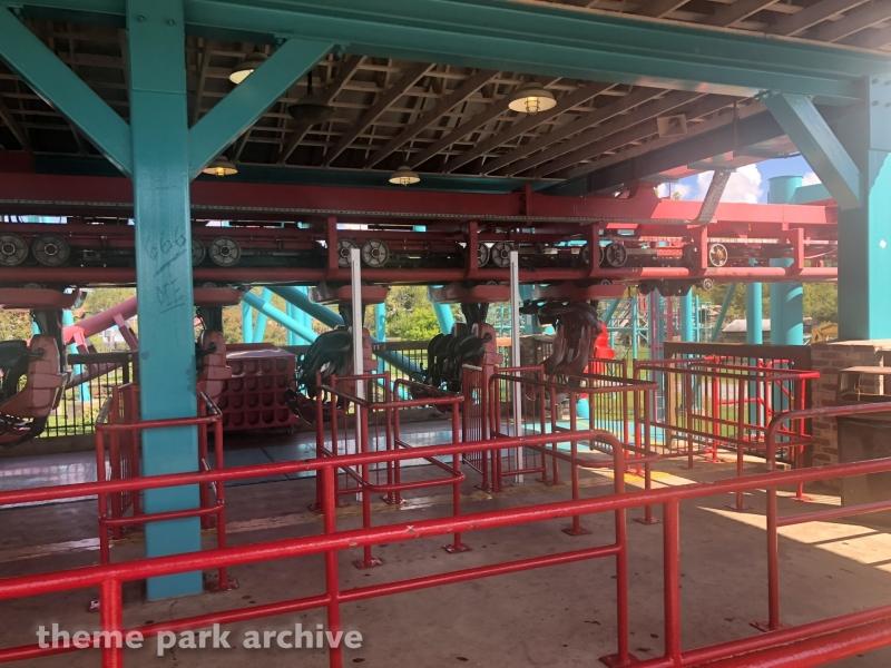 The Mind Eraser at Six Flags Darien Lake